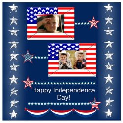 "Scrapbook template ""Independence Day #9"" in ""Independence"""