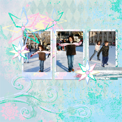 "Scrapbook template ""Winter 2011 #20"" in ""Seasonal"""