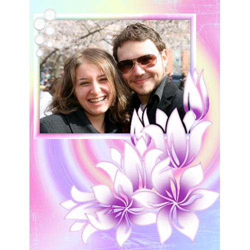 "Scrapbook template ""Spring #24"" in ""Spring"""