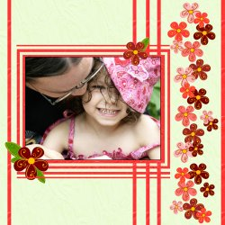 "Scrapbook template ""Mothers Day #14"" in ""Mother`s Day"""