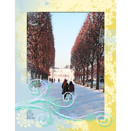 "Scrapbook template ""Winter 2011 #07"" in ""Seasonal"""