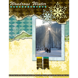 "Scrapbook template ""Winter 2011 #03"" in ""Seasonal"""