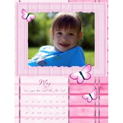 "Scrapbook template ""May 2008 #01"" in ""Calendars 2008"""