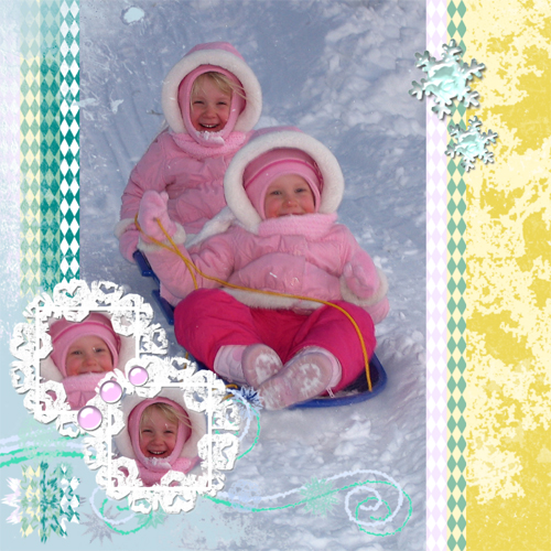 "Scrapbook template ""Winter 2011 #12"" in ""Seasonal"""