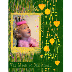 "Scrapbook template ""Christmas 2009 #18"" in ""Christmas Scrapbooking"""