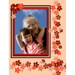 "Scrapbook template ""Mothers Day #23"" in ""Mother`s Day"""