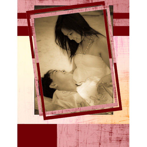"Scrapbook template ""Love #15"" in ""Love Scrapbooking"""