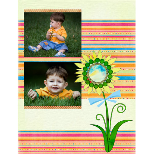 "Scrapbook template ""Easter #25"" in ""Easter"""