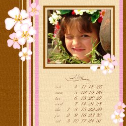 "Scrapbook template ""May2008 #10"" in ""Calendars 2008"""