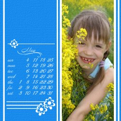 "Scrapbook template ""May2008 #08"" in ""Calendars 2008"""