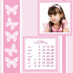 "Scrapbook template ""May 2008 #09"" in ""Calendars 2008"""
