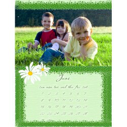 "Scrapbook template ""June2008 #01"" in ""Calendars 2008"""