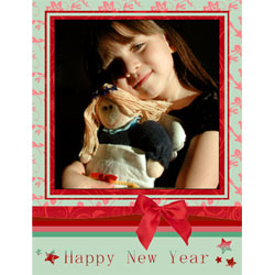 "Scrapbook template ""New Year 2009 #17"" in ""New Year"""