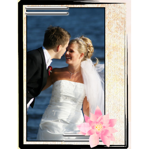 "Scrapbook template ""Wedding #15"" in ""Wedding Scrapbooking Templates"""