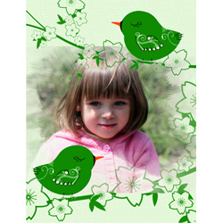 "Scrapbook template ""Spring #32"" in ""Spring"""