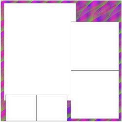 "Scrapbook template ""Rainbow (backgrounds) #22"" in ""Backgrounds"""