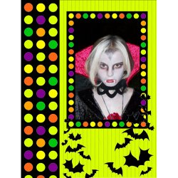 "Scrapbook template ""Halloween2008 #03"" in ""Halloween"""