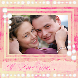 "Scrapbook template ""Love #20"" in ""Love Scrapbooking"""