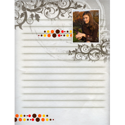 "Scrapbook template ""Fall #13"" in ""Fall"""
