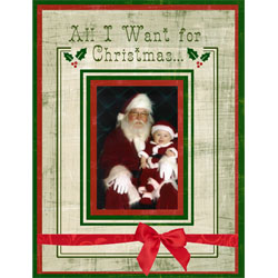 "Scrapbook template ""Christmas 2009 #16"" in ""Christmas Scrapbooking"""
