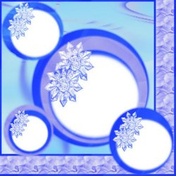 "Scrapbook template ""Winter Vacation #4"" in ""Winter Vacation"""