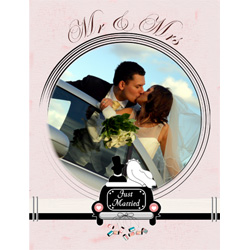 "Scrapbook template ""Wedding #19"" in ""Wedding Scrapbooking Templates"""
