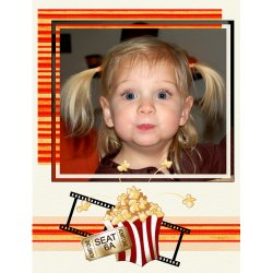 "Scrapbook template ""Cinema #11"" in ""Fan Pages"""