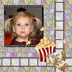 "Scrapbook template ""Cinema #08"" in ""Fan Pages"""