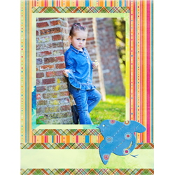 "Scrapbook template ""Spring #36"" in ""Spring"""