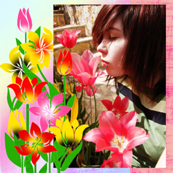 "Scrapbook template ""Spring #27"" in ""Spring"""