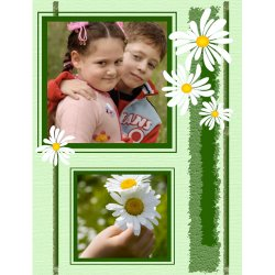 "Scrapbook template ""Spring #20"" in ""Spring"""