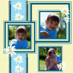 "Scrapbook template ""Spring #03"" in ""Spring"""