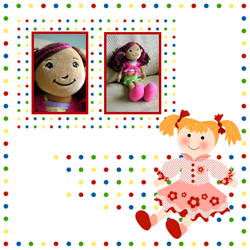 "Scrapbook template ""Toy Store #06"" in ""Baby Scrapbooking"""