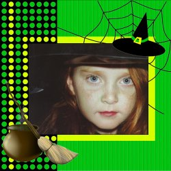"Scrapbook template ""Halloween2008 #12"" in ""Halloween"""