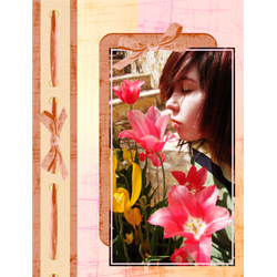 "Scrapbook template ""Spring #34"" in ""Spring"""