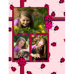 "Scrapbook template ""Garden #13"" in ""Nature"""