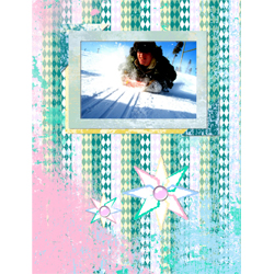 "Scrapbook template ""Winter 2011 #11"" in ""Seasonal"""