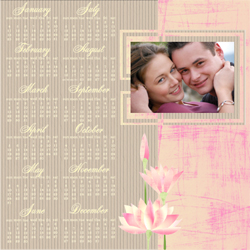"Scrapbook template ""Calendar2009 #16"" in ""Calendars 2009"""