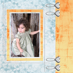 "Scrapbook template ""Silver Dreams #16"" in ""Silver Dreams"""