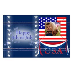 "Scrapbook template ""Independence Day Card #6"" in ""Independence"""