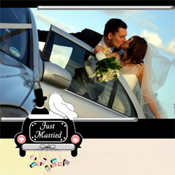 "Scrapbook template ""Wedding #14"" in ""Wedding Scrapbooking Templates"""