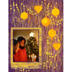 "Scrapbook template ""Christmas 2009 #08"" in ""Christmas Scrapbooking"""