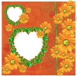 "Scrapbook template ""Leo and loving it #2"" in ""St Valentine"""