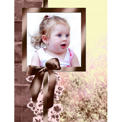 "Scrapbook template ""Shabby chic #07"" in ""Shabby chic"""