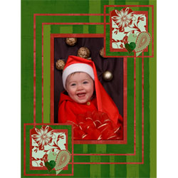 "Scrapbook template ""New Year 2009 #13"" in ""New Year"""