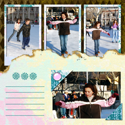 "Scrapbook template ""Winter 2011 #10"" in ""Seasonal"""