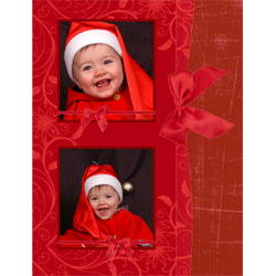 "Scrapbook template ""Christmas 2009 #12"" in ""Christmas Scrapbooking"""