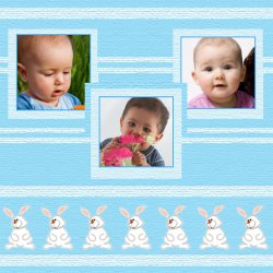 "Scrapbook template ""Easter #04"" in ""Easter"""