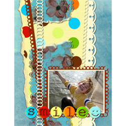 "Scrapbook template ""Family #07"" in ""Family"""