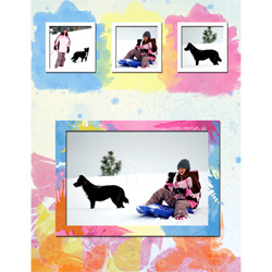 "Scrapbook template ""Winter time #15"" in ""Winter Vacation"""
